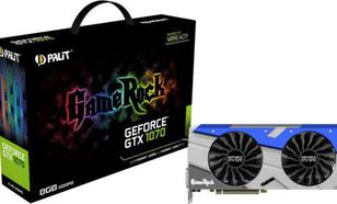 Palit Palit GeForce GTX 1070 GameRock 8GB GDDR5 (256 bit) 3x DP, HDMI, DVI (NE51070T15P2G)