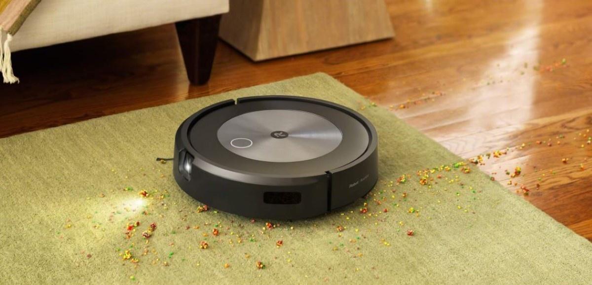 3-stopniowy system sprzątania Roomba J7