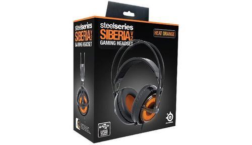 SteelSeries Słuchawki SIBERIA V2 ORANGE HEAT