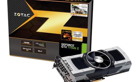ZOTAC GeForce GTX TITAN Z - potężna karta graficzna