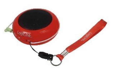 LogiLink Przenośny do Mp3/telefonu - czerwony