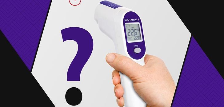 Jak mierzyć temperaturę termometrem bezdotykowym?