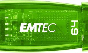 EMTEC Pendrive 64GB C410 Green USB 3.0