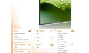 Philips 32'' BDL3260EL LED Slim Bezel Public Display HTML5 browser