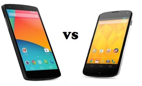 Nexus 5 vs Nexus 4 - Czy warto zmieniać na nowszego?