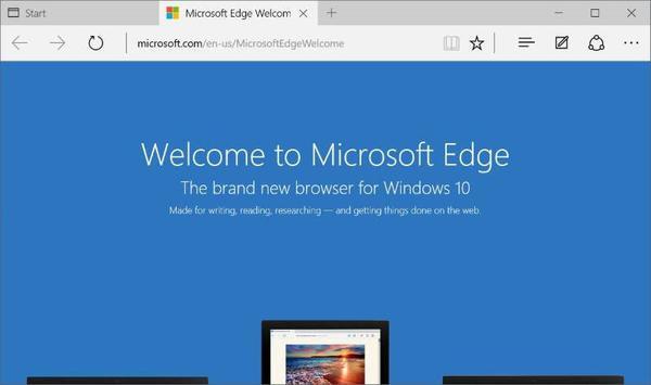 reaktywacji przeglądarki Microsoft Edge