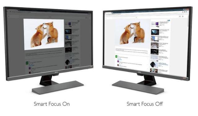 Działanie Smart Focus w praktyce.