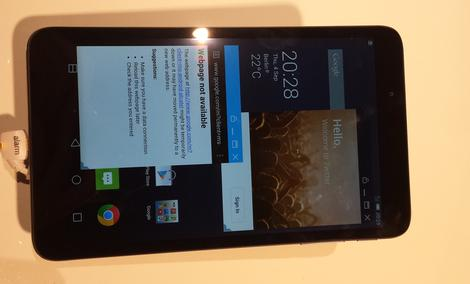Alcatel OneTouch Hero 8 - premiera tableta na IFA 2014
