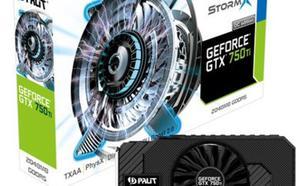 Palit GeForce GTX 750Ti STORMX OC 2GB GDDR5 (128 bit) DVI-D, HDMI, VGA (NE5X75TSHD41F)