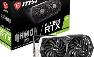 MSI GeForce RTX 2060 SUPER Armor OC 8GB GDDR6 (RTX 2060 SUPER ARMOR