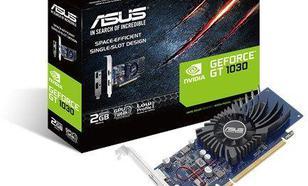 Asus GT 1030 LP 2GB GDDR5 (64 bit), HDMI, DisplayPort, BOX (GT1030-2G-BRK)