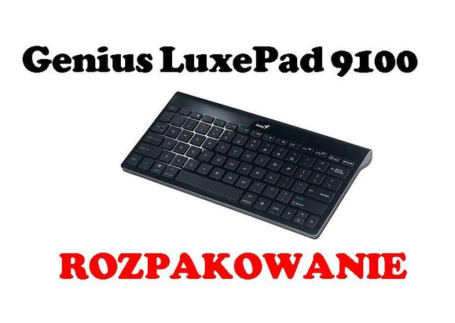 Genius LuxePad 9100 - klawiatura Bluetooth [ROZPAKOWANIE]