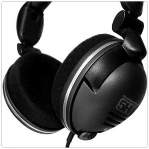 Słuchawki nauszne z mikrofonem Steelseries 5H V2 (Czarny)