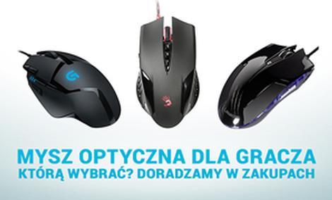 Mysz Optyczna Dla Gracza - Wybieramy Najlepszy Sprzęt