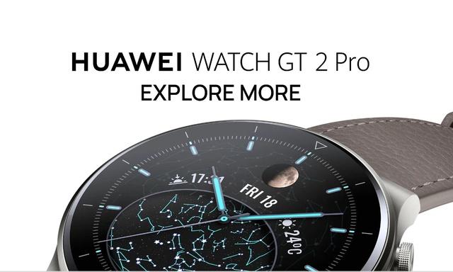 Huawei Watch GT 2 Pro – Premiowy smartwatch w sprzedaży we wrześniu