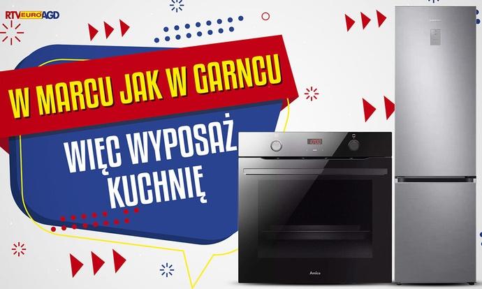 Wyposaż kuchnię taniej w marcu! Promocje do 400 złotych