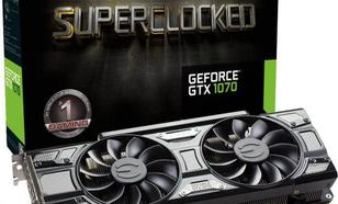 EVGA GeForce GTX 1070 SC Gaming ACX 3.0 Black Edition 8GB GDDR5 (256 Bit) HDMI, DVI, 3xDP, BOX (08G-P4-5173-KR)