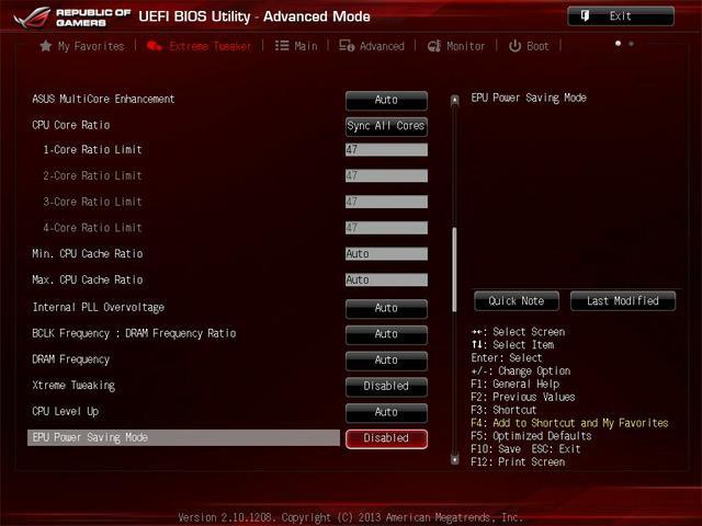 Asus Maximus VI Impact uefo3