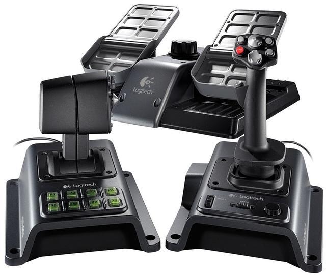 Logitech Flight System G940 - kontroler gry dla miłośników latania
