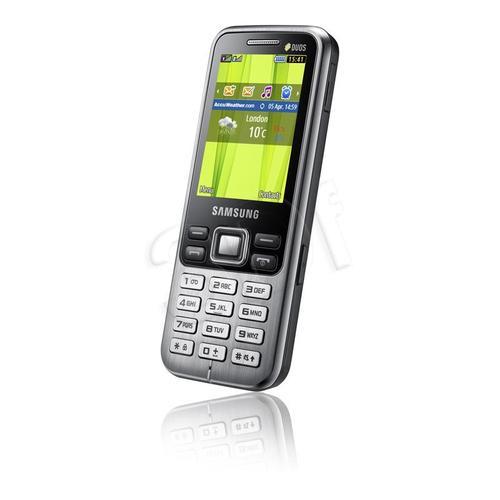 SAMSUNG C3322 DUAL SIM BLACK