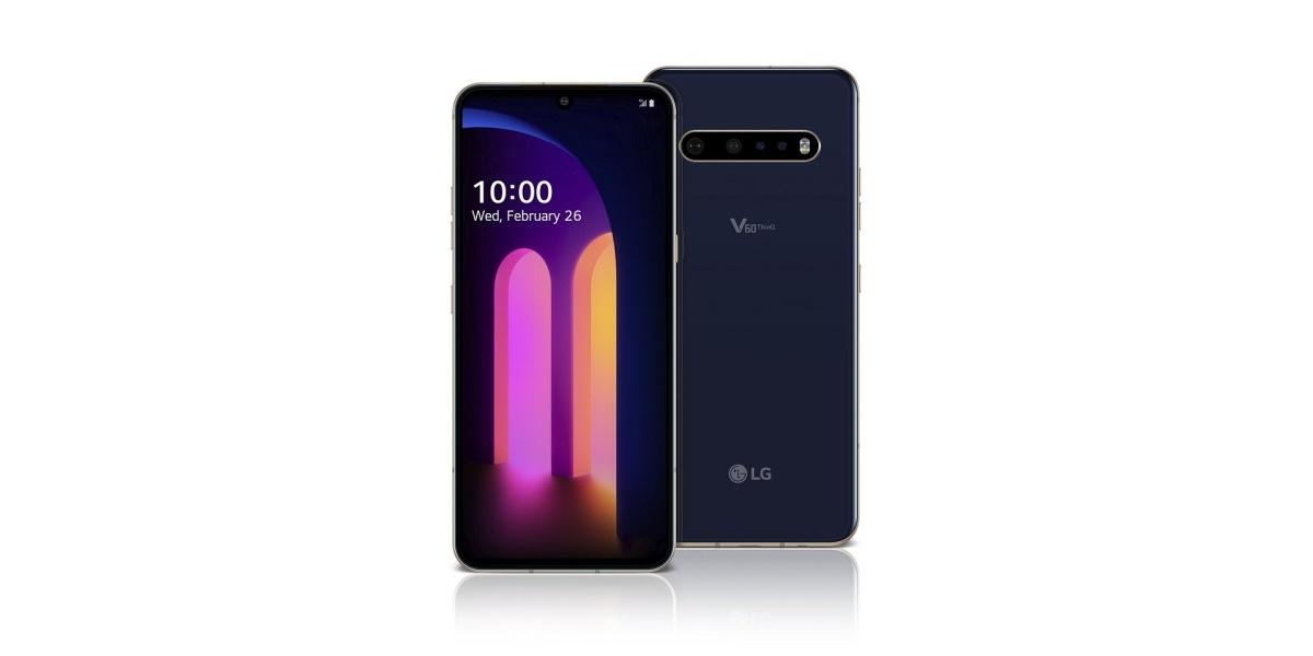 Wygląd LG V60 ThinQ nawiązuje do innych przedstawicieli serii V