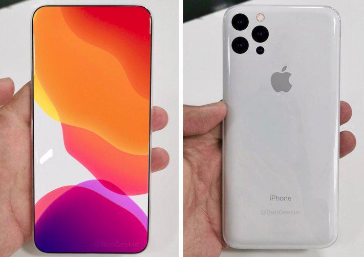iPhone 2020 może otrzymać kompletnie odświeżony design