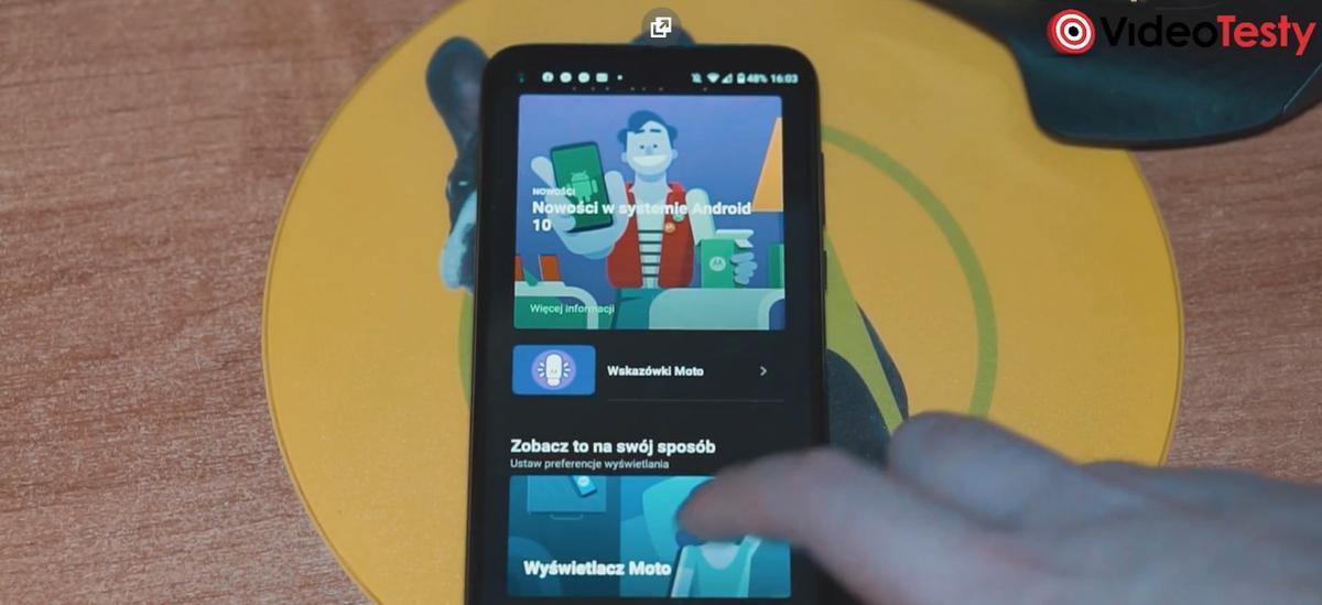 Motorola udostępniła samouczek do wszystkich smart funkcji