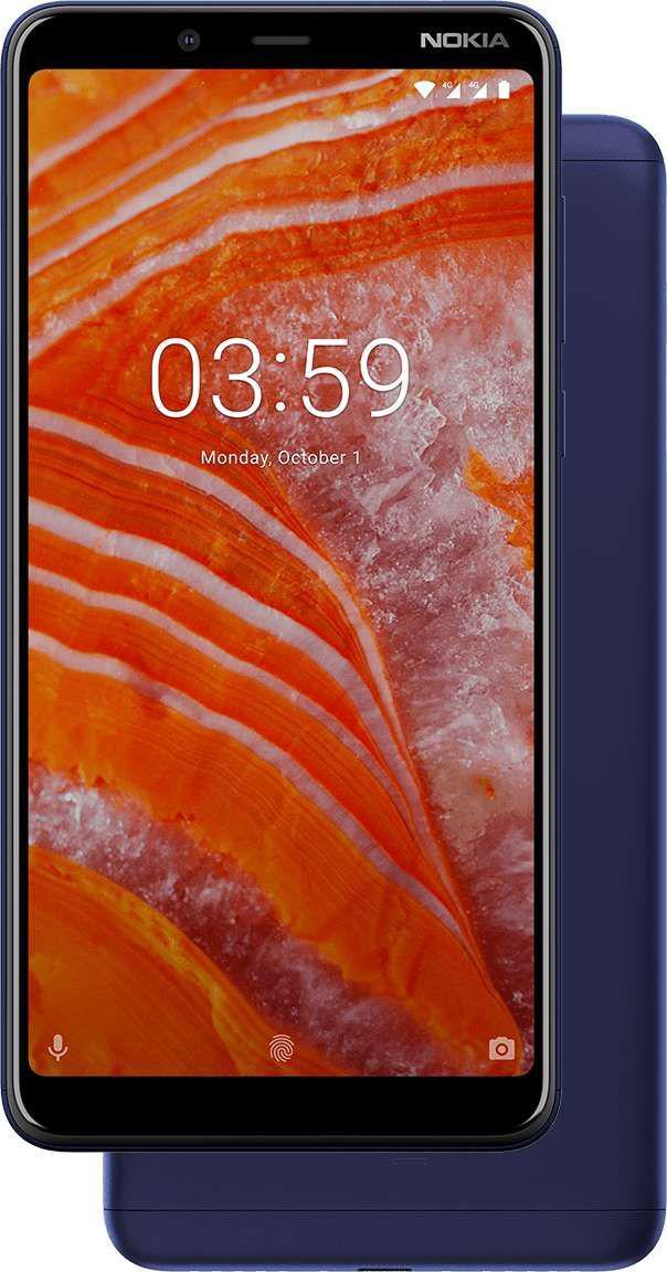 Nokia 3.1 PLUS TA-1104 Niebieski