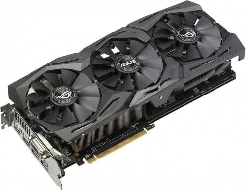 Asus RX 580 GAMING 8GB 256BIT 2HDMI/DVI/2DP/HDCP - ROG-STRIX-RX580-8G-GAMING - ROG-STRIX-RX580-8G-GAMING