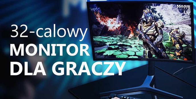 Test Samsunga CHG70 - 32-calowy Monitor Dla Graczy