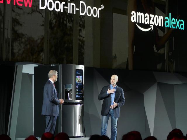 LG Smart Fridge Amazon Echo Presentation