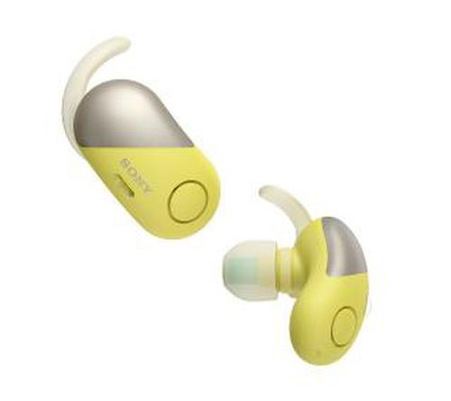 Sony WF-SP700N (żółty)