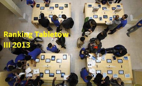 Ranking tabletów - III 2013