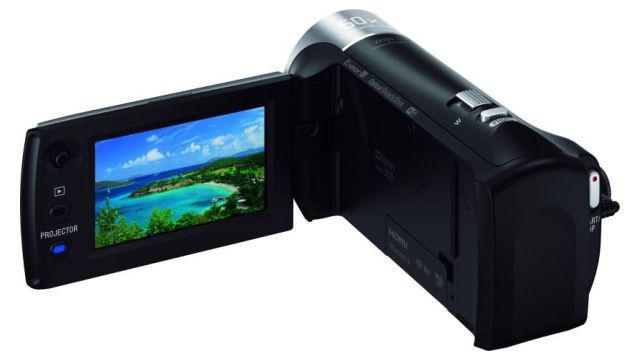 Sony HDR-PJ410B kamera z wbudowanym projektorem