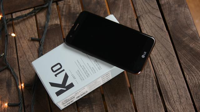 LG K10 2017 test