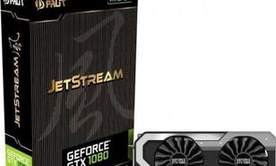 Palit GeForce GTX1080 JetStream 8GB GDDR5 (256 bit) HDMI, DVI, 3x DP, BOX (NEB1080015P2J)