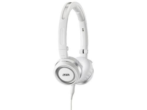 AKG K452 Białe słuchawki z mikrofonem