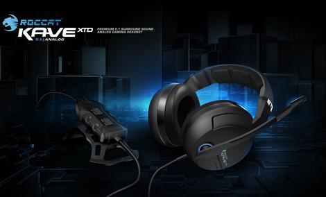 Roccat Kave XTD 5.1 Analog - Słuchawki True Surround dla Wymagających
