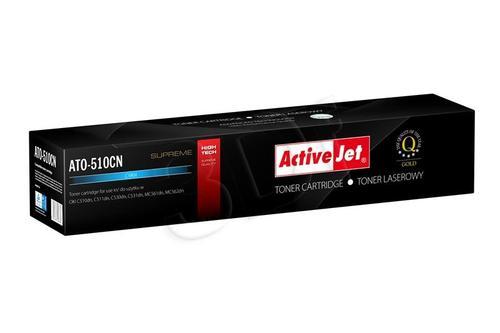 ActiveJet ATO-510CN cyan toner do drukarki laserowej OKI (zamiennik 44469724) Supreme