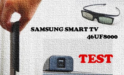 Samsung Smart TV 46UF8000 recenzja telewizora [TEST]