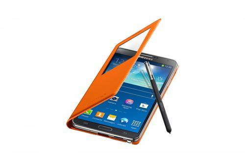 Samsung Etui N9005 Orange S-View