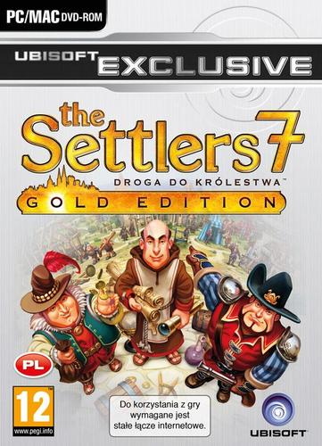 UEX BLACK Settlers 7: Droga do Królestwa - Gold Edition