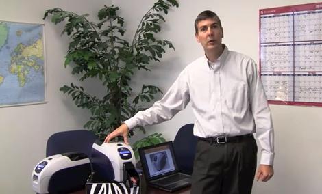 Zebra ZXP3 - drukarka do kart