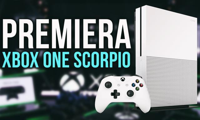 Premiera Xbox One Scorpio - Blady Strach Padł na Sony!