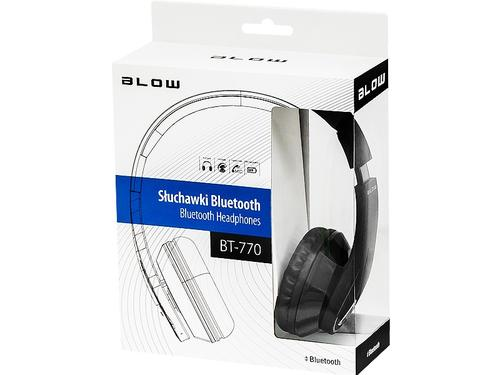 Blow Słuchawki nauszne BT-770 Black