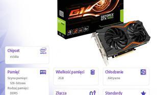 Gigabyte GeForce CUDA GTX 1050 G1 GAMING 2GB GDDR5 128BIT DVI-D/3HDMI/DP