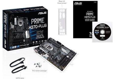 Asus PRIME H370-PLUS (90MB0WA0-M0EAY0)