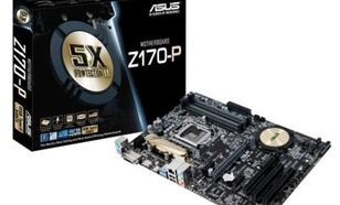 Asus Z170-P s1151 Z170 4DDR3 RAID/USB3.0 ATX