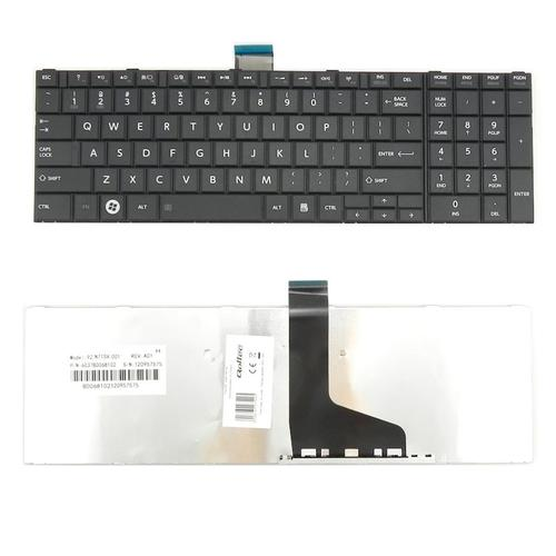 Qoltec Klawiatura do notebooka TOSHIBA Satellite C850 L850 C870