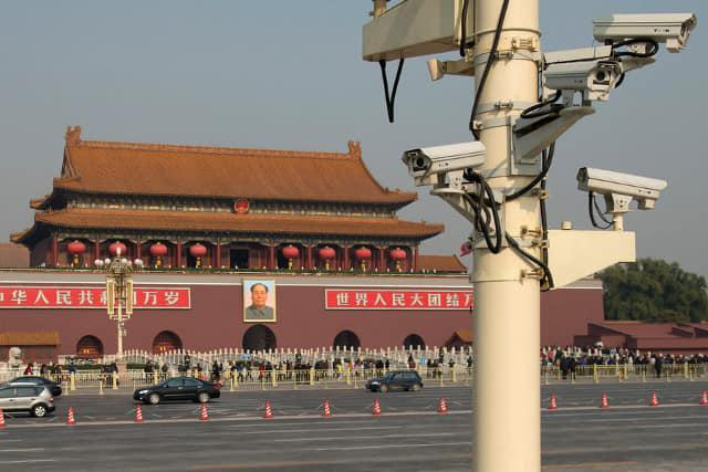 W Chinach kamery są dosłownie wszędzie